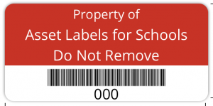 Property Of type label - own text