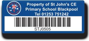Primary School Asset Labels