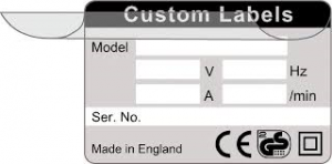 The popular 'write and seal' label. Secure and reliable.