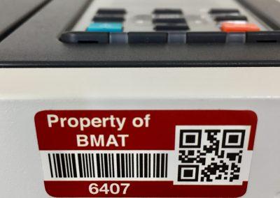 Academy barcode QR labels