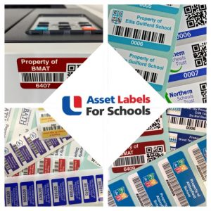 Barcode labels for schools