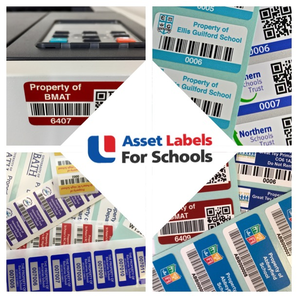 Track Property With School Asset Labels