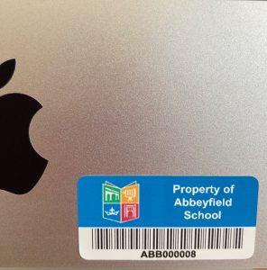 Asset labels for schools. We make it easy. Online shop