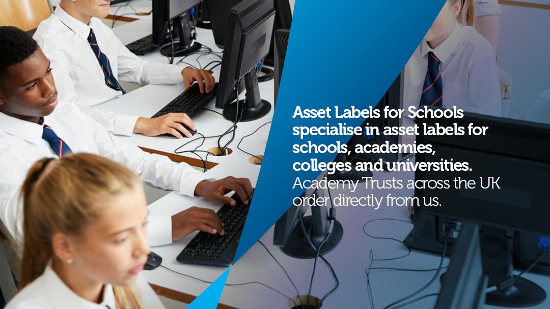 School Asset Labels Online